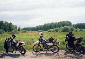 ユーラシア大陸横断 シベリア横断 (19)  イルクーツクからクラスノヤリスクへ _c0011649_954135.jpg