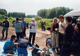 ユーラシア大陸横断 シベリア横断 (19)  イルクーツクからクラスノヤリスクへ _c0011649_9543189.jpg