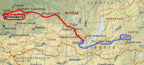 ユーラシア大陸横断 シベリア横断 (21)  マイリンスクからノボシビルスクへ _c0011649_7165452.jpg