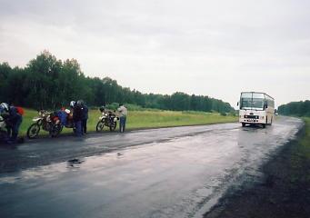ユーラシア大陸横断 シベリア横断 (20)  クラスノヤリスクからマイリンスクへ _c0011649_722829.jpg