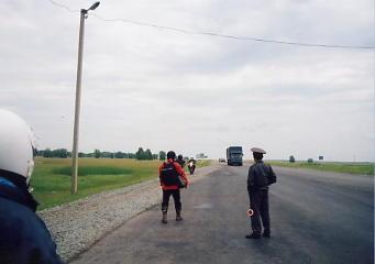 ユーラシア大陸横断 シベリア横断 (20)  クラスノヤリスクからマイリンスクへ _c0011649_724867.jpg