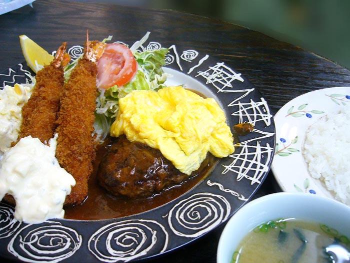 洋食の店「なんじゃろ」@ 国体道路の東のほう_e0024756_169496.jpg