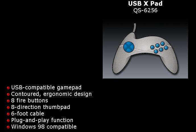 【レビュー】QuickShot USB X Pad(QS-6256)_c0004568_2129492.jpg