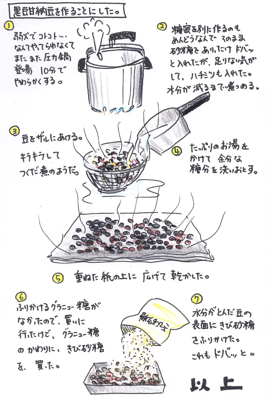 黒豆甘納豆を作ってみた_f0072976_017201.jpg