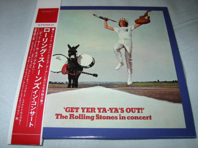 THE ROLLING STONES / GET YER YA-YA\'S OUT!_b0042308_2222247.jpg