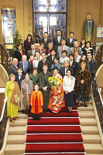 パリの結婚式 ~ヴァンセンヌ市役所~_c0024345_8154087.jpg
