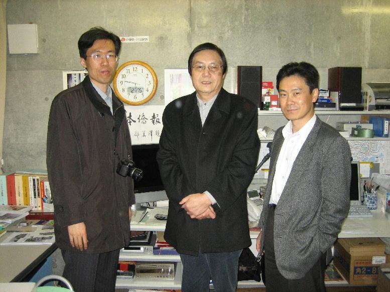 人民網総裁何加正さん 日本を訪問_d0027795_12502593.jpg