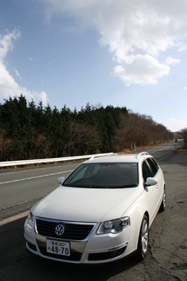 VWパサート その2-輸入車の価値を変える意欲作-_f0040103_1661732.jpg