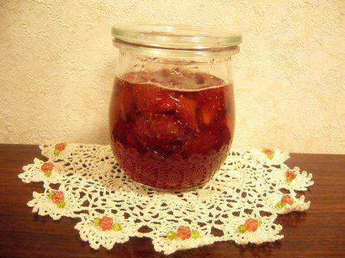ニコニコの苺ジャム。:☆.。†_a0053662_20544865.jpg