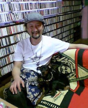 田口社長&チビちゃん_d0052485_1529196.jpg