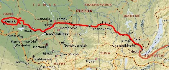 ユーラシア大陸横断 シベリア横断 (26)  オムスク _c0011649_8135181.jpg