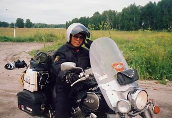 ユーラシア大陸横断 シベリア横断 (22)  ノボシビルスクからクイビシェフへ _c0011649_818131.jpg