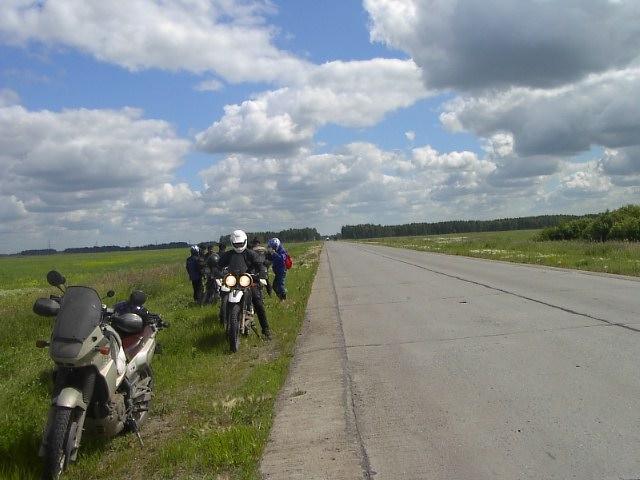 ユーラシア大陸横断 シベリア横断 (24)  クイビシェフ から オムスクへ _c0011649_8565627.jpg