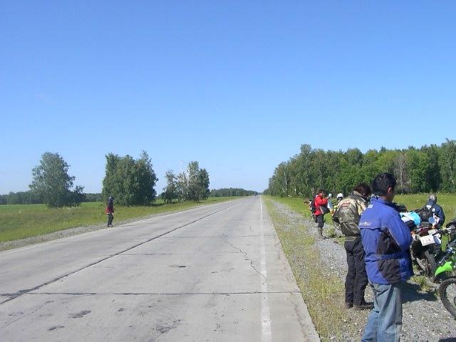 ユーラシア大陸横断 シベリア横断 (24)  クイビシェフ から オムスクへ _c0011649_858236.jpg