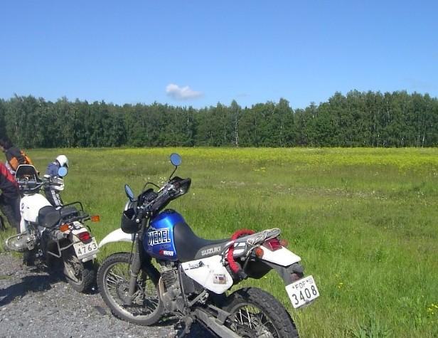 ユーラシア大陸横断 シベリア横断 (24)  クイビシェフ から オムスクへ _c0011649_951677.jpg