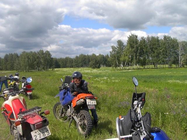 ユーラシア大陸横断 シベリア横断 (24)  クイビシェフ から オムスクへ _c0011649_954840.jpg