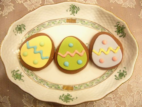 春のワルツとeaster biscuits*。:♪.。†_a0053662_1946451.jpg