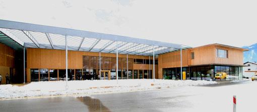 オーストリア研修18:カフマン設計のLudesch ルーデッシュの市役所1:外観1_e0054299_10501281.jpg
