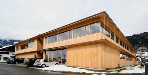 オーストリア研修18:カフマン設計のLudesch ルーデッシュの市役所1:外観1_e0054299_10541318.jpg