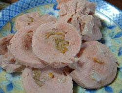 柿豚と柿のハム作り_f0018099_1481377.jpg