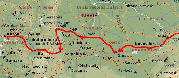 ユーラシア大陸横断 シベリア横断 (35)  ウファ到着_c0011649_941696.jpg