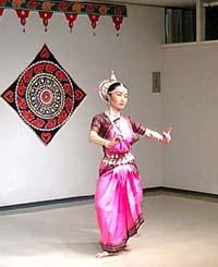野中ミキ インド古典舞踊オディッシィの三日間_f0103760_17414884.jpg
