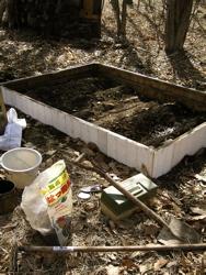 お庭に畑を作りました。_d0028589_18161138.jpg