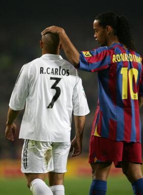 EL Clasico LIGA  FC Barcelona  vs Real Madrid RONALDINHO and RONALDO_e0039513_16323868.jpg