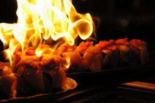 お寿司もファイヤー! 第10回ピンチョスを食べる会_a0033733_13182351.jpg