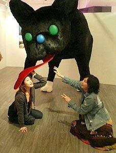 タカノ綾さん展覧会。_f0064823_429860.jpg