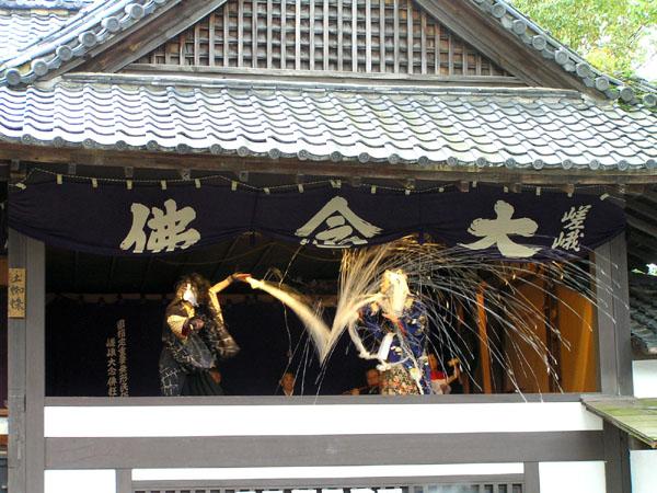 嵯峨釈迦堂の念仏狂言_e0048413_22533011.jpg