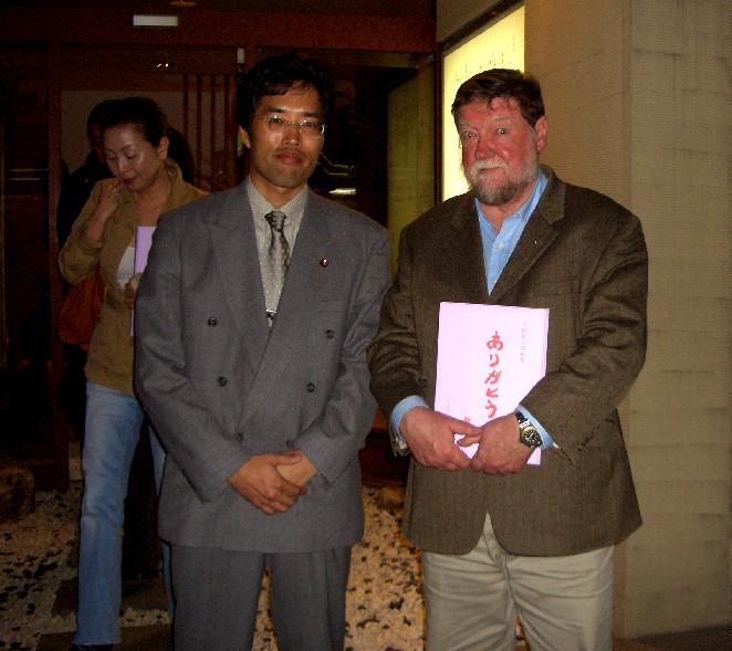C・W・ニコルさん講演会_c0060075_22593361.jpg