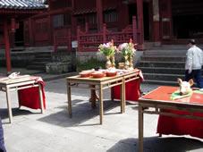 祟福寺の媽祖(まそ)祭に参列させていただく。_b0009103_115225.jpg