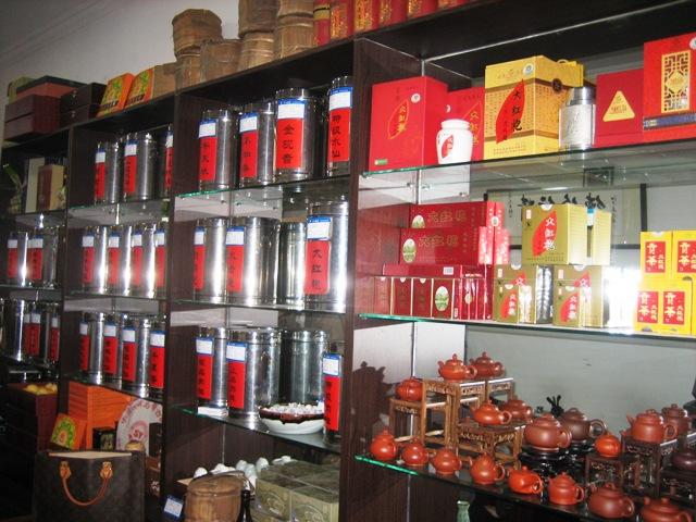 上海の現代ビルと新しい茶葉市場_f0070743_9373970.jpg