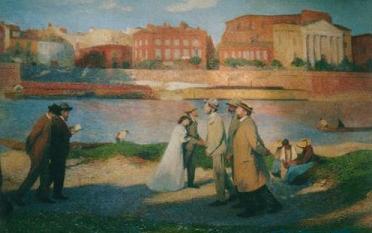 1906年春季展(サロン)Ⅱ-5: 「トゥルーズの岸辺」_f0028703_18105419.jpg