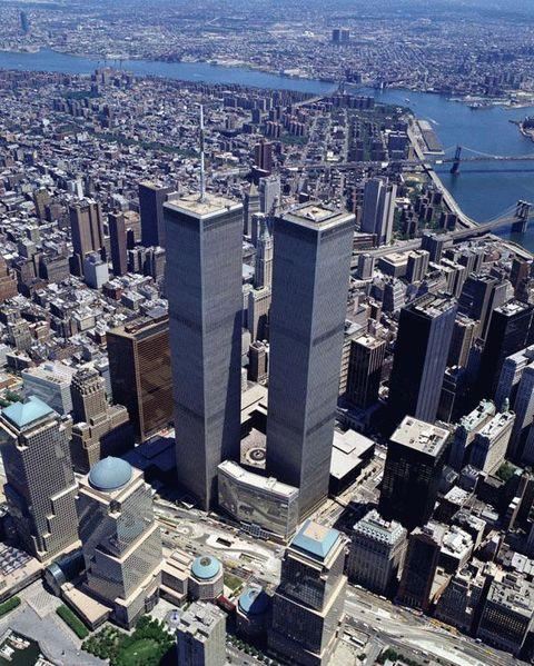 纽约的双子星大楼