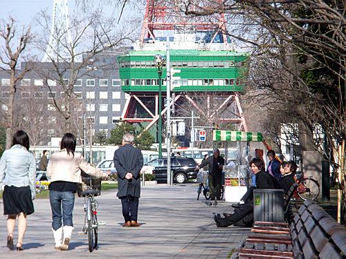 [ようやく...春?]札幌・大通公園_a0009562_1022722.jpg