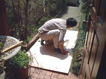 家の修理_f0019498_21534330.jpg