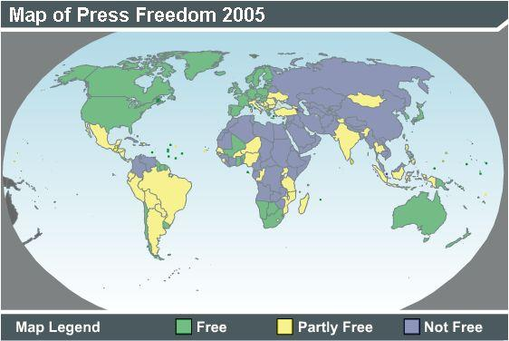 Freedom of Press 2005