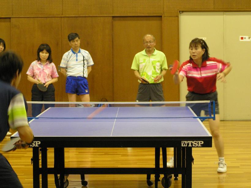 卓球講習会が開催されました。 4/30_e0048692_21595589.jpg