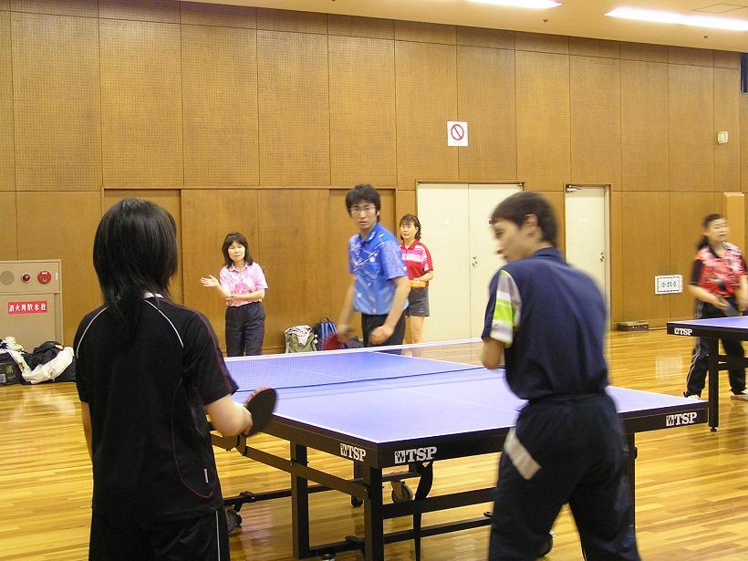 卓球講習会が開催されました。 4/30_e0048692_220877.jpg