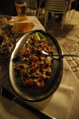 ドブロヴニクのレストラン_e0076932_5415519.jpg