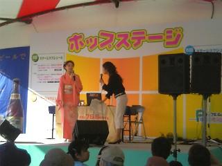 ひろしまフラワーフェスティバル。RCC・NHK・ひろしまPステーションのステージ_e0035048_874731.jpg