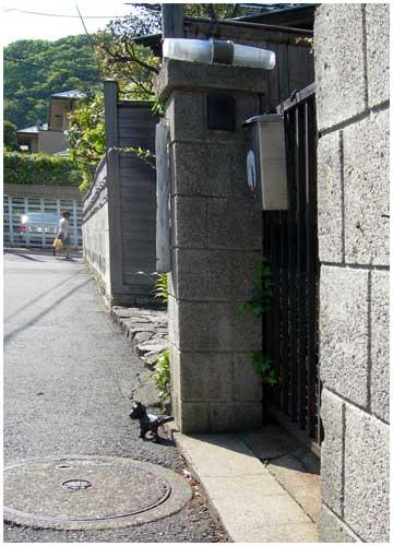 門前の何か