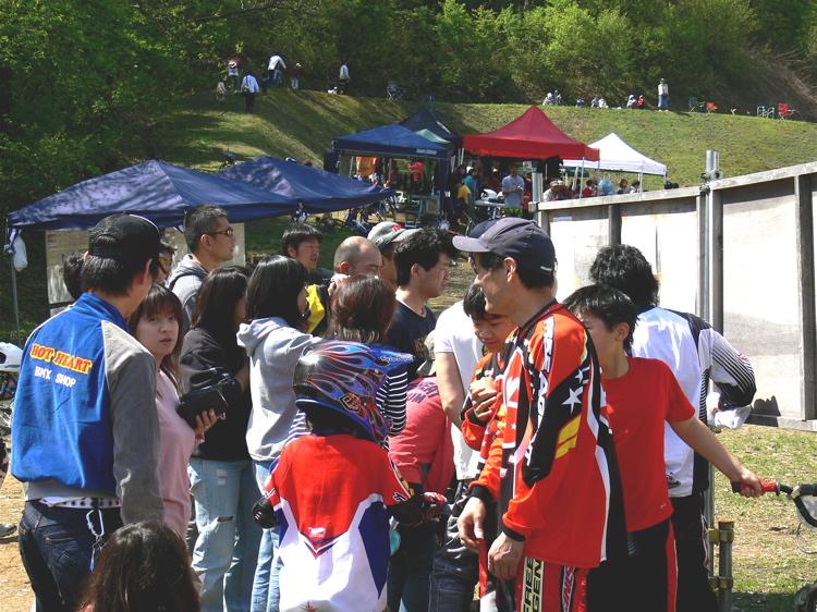 あっくんの日記 JBMXF 2006東日本BMX選手権大会 In Kanayasan Joetsu 扁_b0065730_10355189.jpg