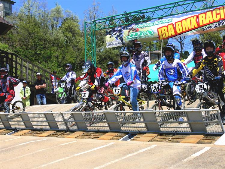 あっくんの日記 JBMXF 2006東日本BMX選手権大会 In Kanayasan Joetsu 扁_b0065730_11153276.jpg