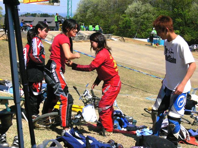 あっくんの日記 JBMXF 2006東日本BMX選手権大会 In Kanayasan Joetsu 扁_b0065730_11522034.jpg