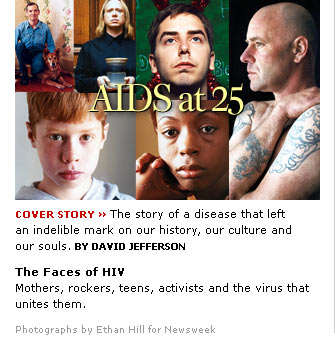 AIDS at 25 (Newsweekカヴァーストーリー 2006/05/15)_d0066343_2063433.jpg