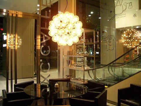 渋谷 カッシーナ「IXC.CAFFÈ」_a0039199_11364213.jpg