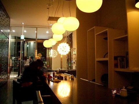 渋谷 カッシーナ「IXC.CAFFÈ」_a0039199_11373892.jpg